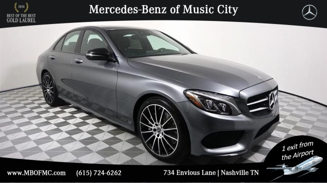 Like New Loaner 2018 Mercedes-Benz C 300 Sport RWD SEDAN