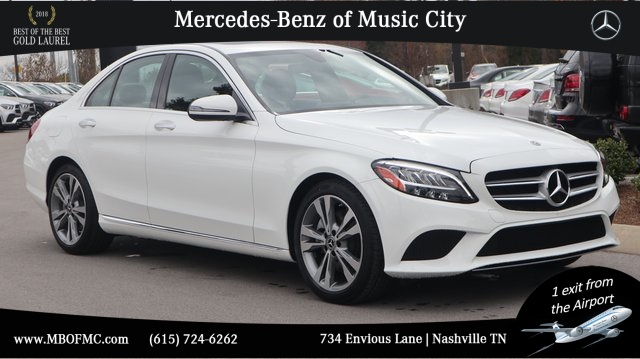 Like New Loaner 2019 Mercedes-Benz C 300 RWD SEDAN