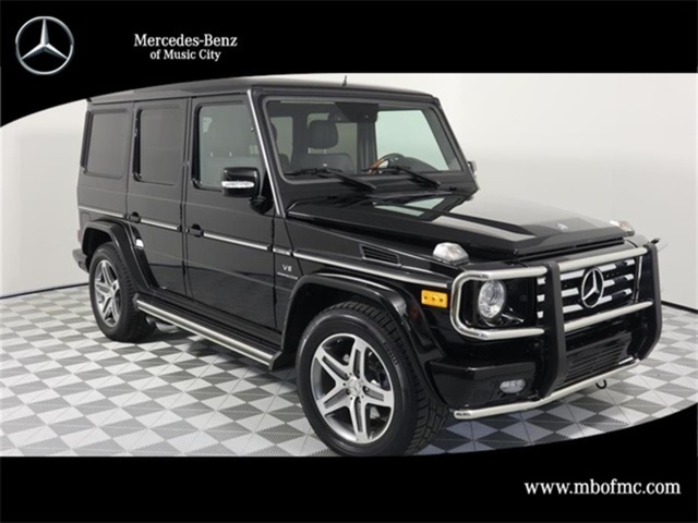 Pre-Owned 2011 Mercedes-Benz G-Class G 55