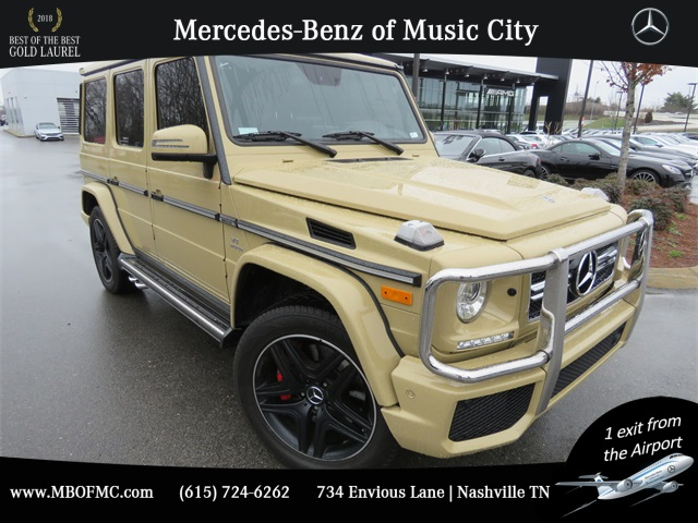 Certified Pre-Owned 2018 Mercedes-Benz G-Class G 63 AMG®