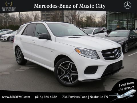 Certified Pre-Owned 2018 Mercedes-Benz GLE GLE 43 AMG®