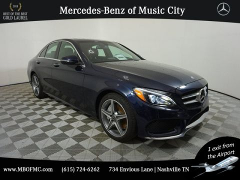 Certified Pre-Owned 2018 Mercedes-Benz C-Class C 300 Sport SEDAN in