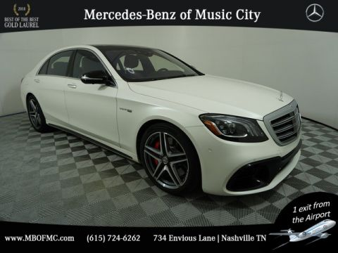 Certified Pre-Owned 2018 Mercedes-Benz S-Class S 63 AMG®